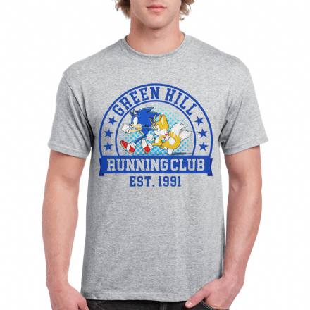 Green Hill Running Club T Shirt Inspired By Sonic The Hedgehog